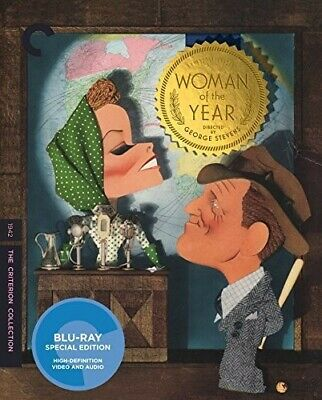 Woman of the Year (Criterion Collection) [New Blu-ray] Restored, Special Editi