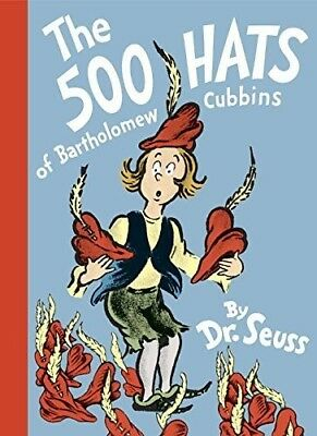 500 Hats Of Bartholomew Cubbins (Dr. Seuss, Cat in the Hat) [New Book] Hardcov
