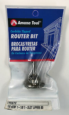 Amana 45672 Carbide Tipped Flooring Straight Dedicated Cutter Router Bit