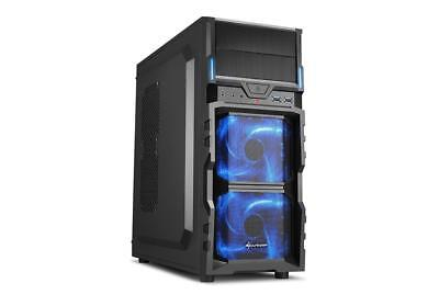 Sharkoon VG5-V Full-Tower Nero cabinet case pc