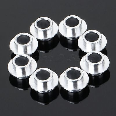 8Pcs/Pack 8mm Dia Skateboard Scooter Roller Inline Skate Wheel Bearing Spacers