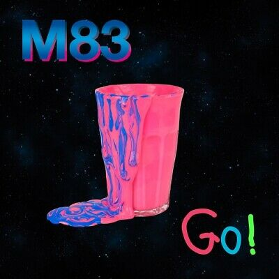 """M83 Go! 12"""" NEW COLORED VINYL Mute Animal Collective"""