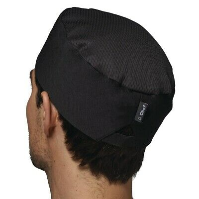 Le Chef Staycool Hat Black M BARGAIN
