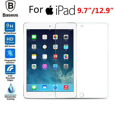 9H Tempered Glass Full Cover Screen Protector Film Guard For Apple New iPad 2017