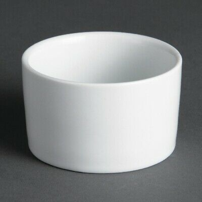 Olympia (Pack of 12) Whiteware Contemporary Ramekins 70mm BARGAIN