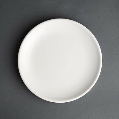 Olympia (Pack of 12) Cafe Coupe Plate 200mm White BARGAIN
