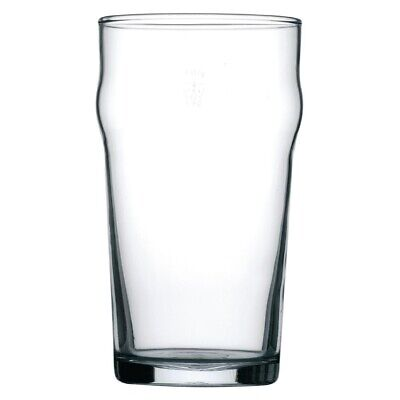 Arcoroc (Pack of 48) Nonic Nucleated Beer Glasses 560ml BARGAIN