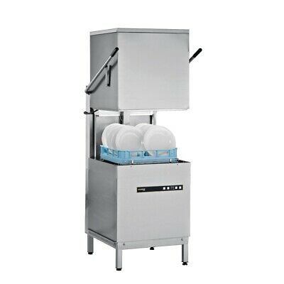 Commercial Hobart Pass Through Dishwasher Dish Glass Washer Ecomax602-1