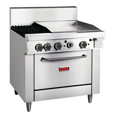 Thor 36in Freestanding Oven Range With Griddle and 2 Burners Natural Gas BARGAIN