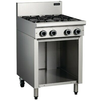 Commercial Cobra 4 Burner Natural Gas Cooktop Stove Catering Equipment C6D