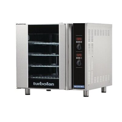 Commercial Turbofan Convection Oven Water Inject 4 Steam Programmable E32D4