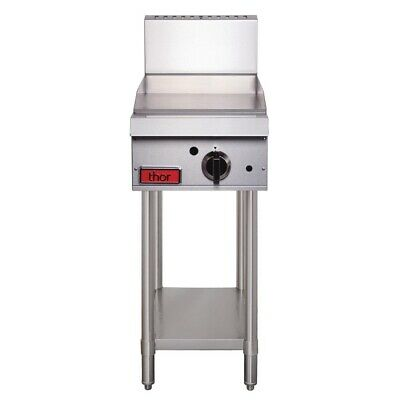 Commercial Thor 15In Griddle Hotplate Flat Top Hot Plate Catering Natural Gas