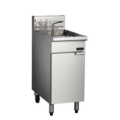 Commercial Cobra Single Pan Deep Fryer Frying Two Baskets Natural Gas Cf2