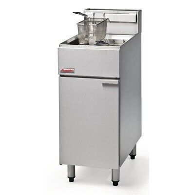 Commercial Fastfri Natural Gas Deep Fryer Fish Chips Food Frying Machine Ff18