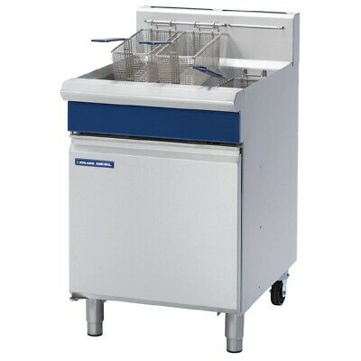 Commercial Blue Seal Single Pan Veeray Deep Fryer 31L Natural Gas Gt60