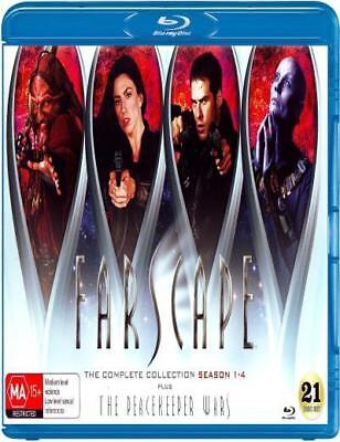 Farscape: The Complete Collection (Season 1 - 4 Plus The Peacekeeper Wars) (Blu-