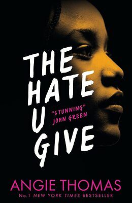 The Hate U Give by Angie Thomas  Paperback BRAND NEW ** FAST FREE P&P **