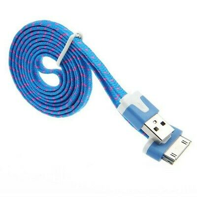 Durbale Long 2m Charger USB Cable for iPhone 4S 4 3GS iPad 2 3 Data Cord