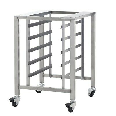 Commercial Turbofan Stainless Steel Stand With Tray Racks For Oven Ge762 Sk33