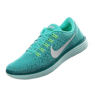 965d4ad648aa Womens Nike Free RN Distance Running Shoes Turquoise Jade 827116 301 NEW   120