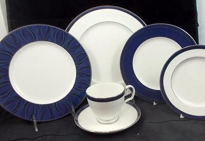 Noritake STARDUST PLATINUM 6 Piece Place Setting 7997 Showroom Inventory A+