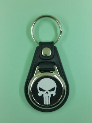 The Punisher .Porte Clés Luxe Rond