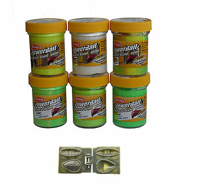 Berkley Powerbait Natural Scent Liver Angelteig versch