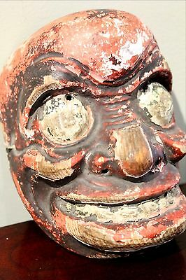 JAPANESE NOH MASK,  AUTHENTIC EDO Period