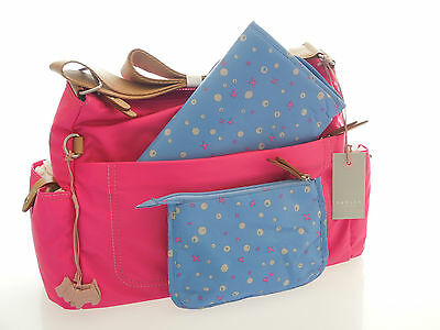 Radley Brand New  Tibberton Large Baby Bag With Changing Mat & Removable Pouch