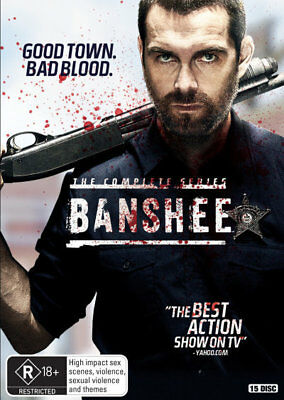 Banshee: The Complete Series (DVD) Brand New
