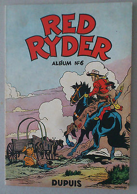 HARMAN ***  RED RYDER. ALBUM n°6  ***  EO 1954 TBE