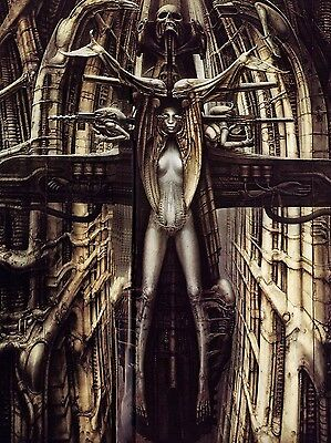 H.r. Giger Poster C - Various Sizes + A Free Surprise A3 Poster