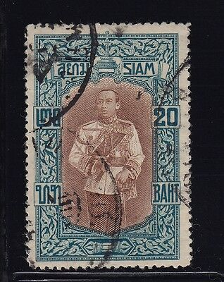 Thailand Scott # 156 VF used neat cancel nice color cv $ 95 ! see pic !