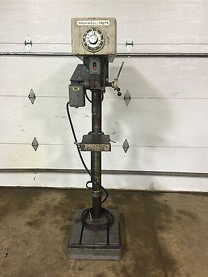 "17"" Delta/Rockwell variable speed drill press"