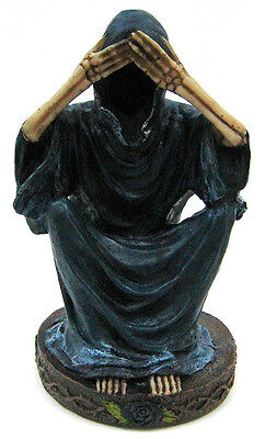 `See No Evil` Grim Reaper Statue Angel Of Death