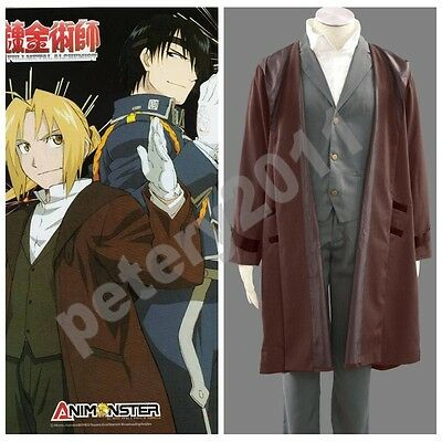 Fullmetal Alchemist Anime Edward Cosplay Costume Halloween