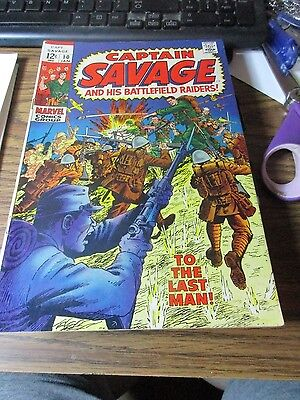 1969 Captain Savage and His Battlefield Raiders #12