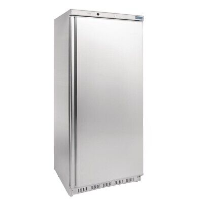 Commercial Polar Single One 1 Door Freezer Stainless Steel Ss Large 600Ltr