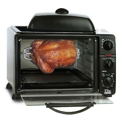 Elite Platinum 8 Multifunction Countertop Toaster Oven Broiler with Convection