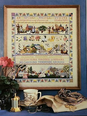 Cross Stitch Chart: Southern  Sampler by Ginger & Spice   OOP & HTF