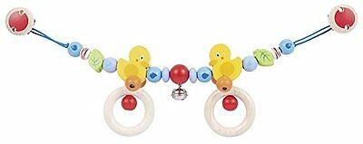 Heimess Pram Chain with Clips Duck