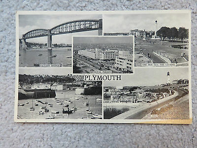 Vintage c1950s Plymouth Multi View Real Photo Postcard