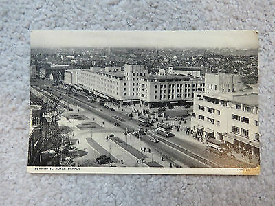 Vintage c1950s Plymouth Royal Parade Real Photo Postcard