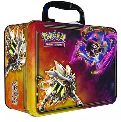 Pokemon TCG Sun And Moon Collectors Chest Tin New FREE EXPRESS POST SAME DAY