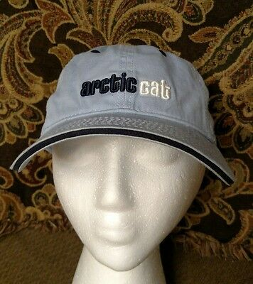 ARCTIC CAT Embroidered Baseball Hat Cap Arcticwear Baby Blue