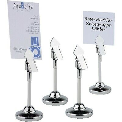 APS (Pack of 4) Table Number Stands BARGAIN