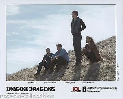Imagine Dragons 2012 Original Color Press Photo Dan Reynolds