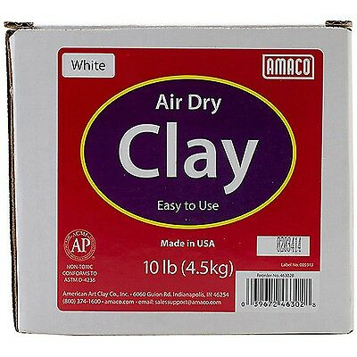 Air Dry Modeling Clay 10 Pounds White