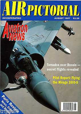 Air Pictorial 1997 August USAF,Mirage 2000,Directflight