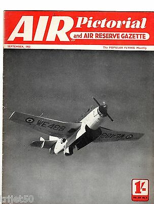 Air Pictorial 1952 September Flying Boats,Hawker,Comet